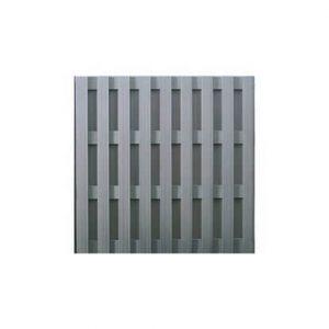 panneau clôture bois composite