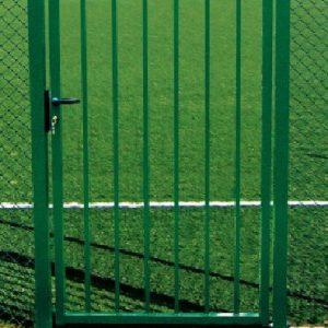 portillon barreaudé vert
